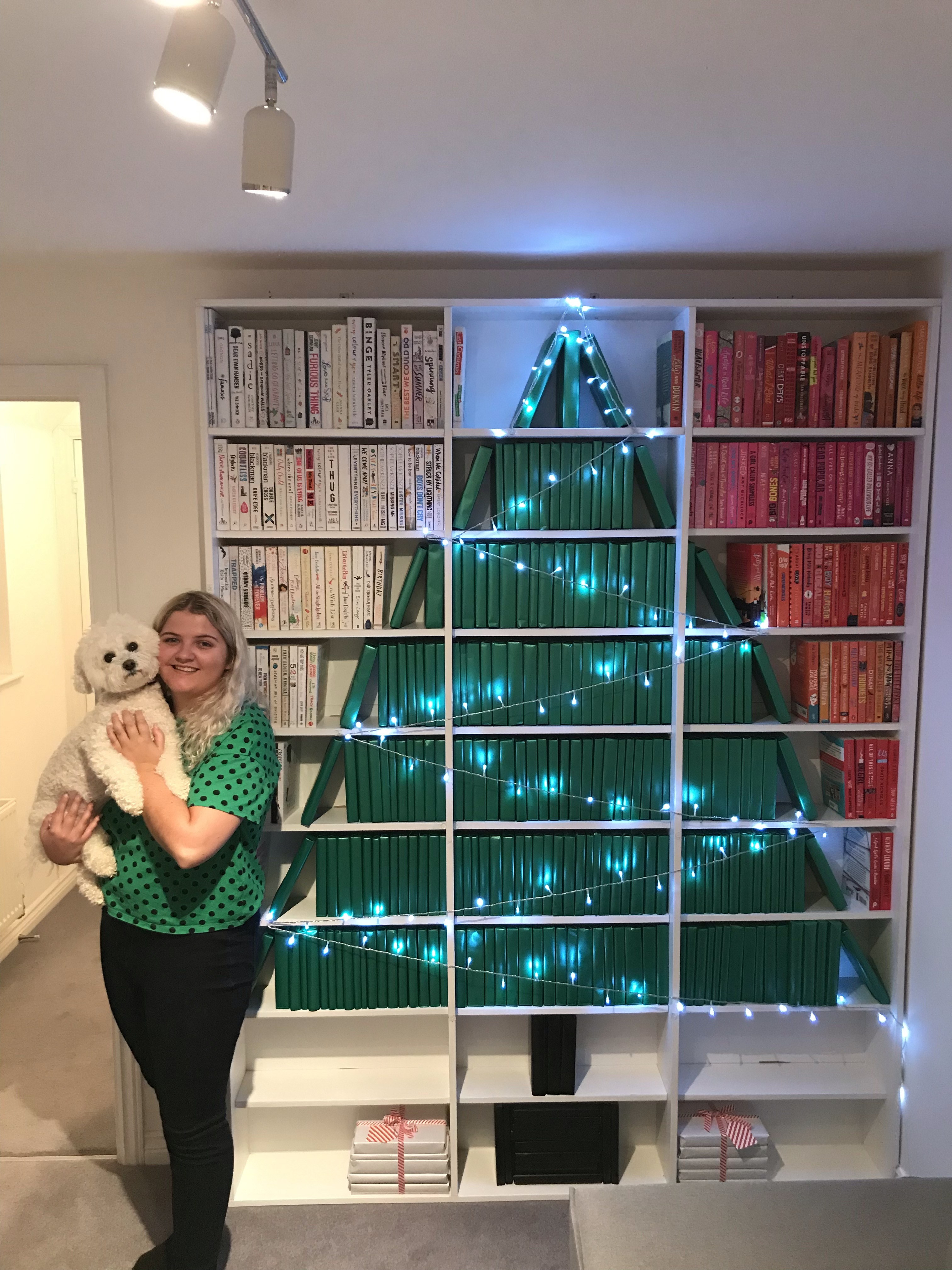 me lucy book tree.JPG